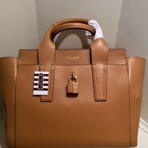 Brunch Tote Light Brown Smooth Leather